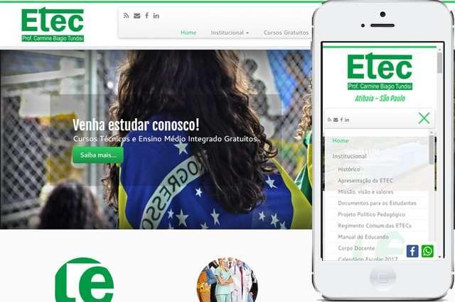 Criação de sites para Escolas