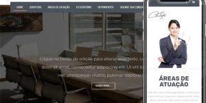 Modelo de Site para Advogados e Escritórios de Advocacias