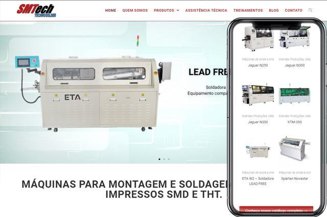 SMTech Máquinas para solda de circuito impresso SMT