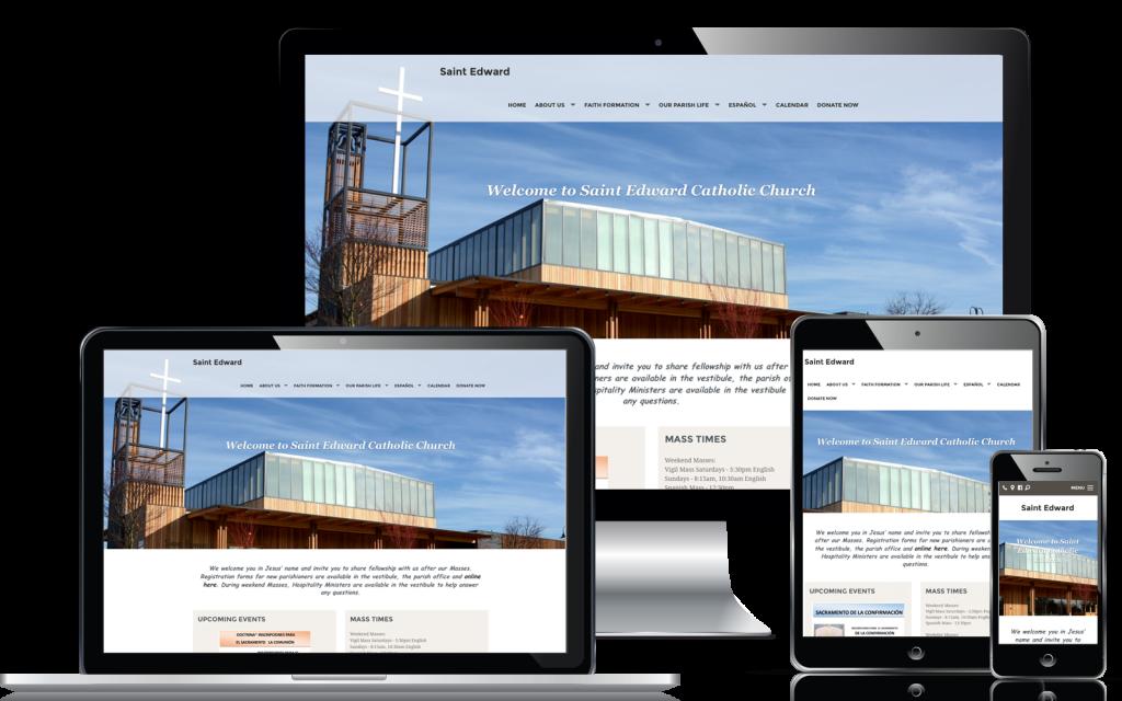 Desenvolvimento de sites de Igrejas