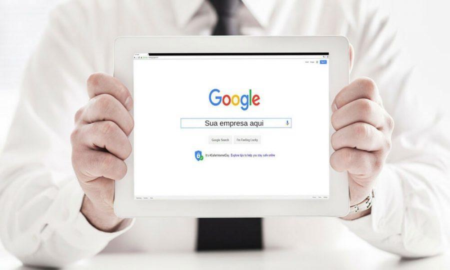 Cadastrar empresa no Google